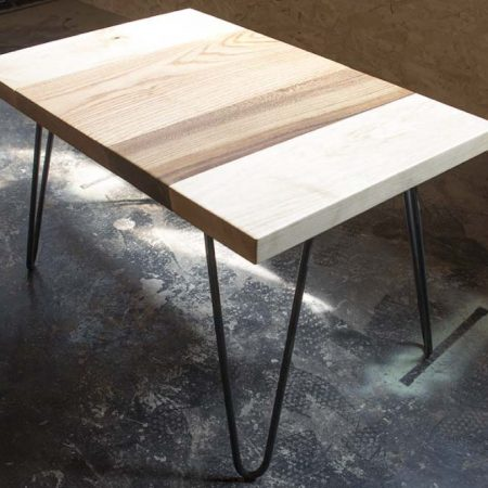 hair pin coffee table