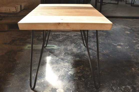 Hairpin coffee table custom furniture made in hong kong