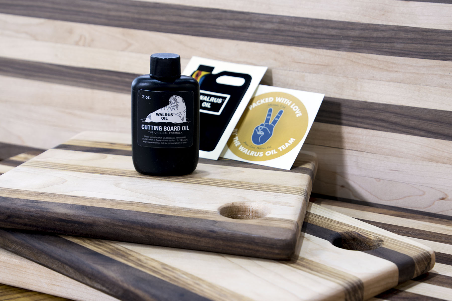 Cutting Board Oil Walrus Oil 2 Oz Wood Care Brand From Usa