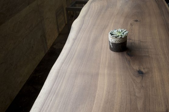 live edge table slab