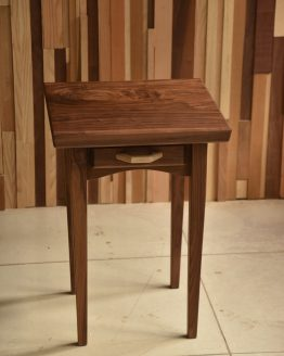 custom solid wood bedside table