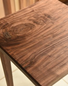 custom design solid wood bedside table