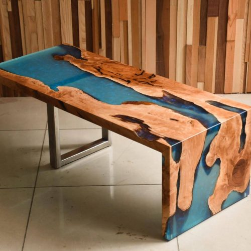 custom river coffee tables