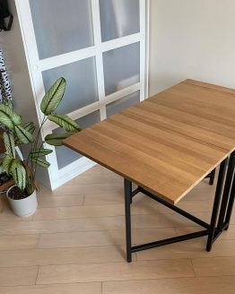 custom folding dining table